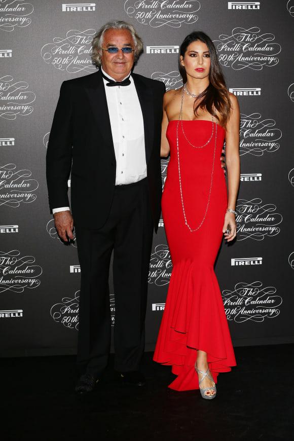 Flavio Briatore und Elisabetta Gregoraci