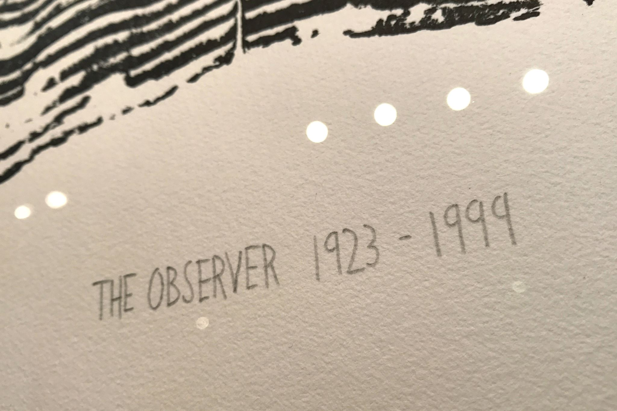 Alternative image for The Observer 1923-1999