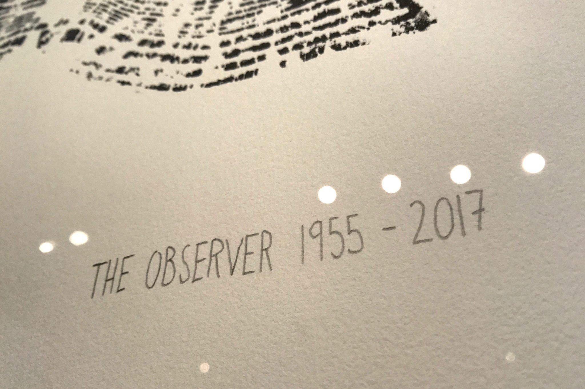Alternative image for The Observer 1955-2017