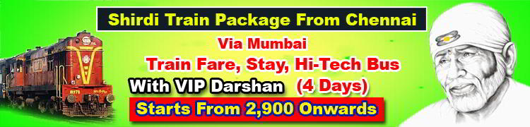 shirdi-train-package-from-chennai