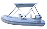 Bimini Tops for Inflatable Boats