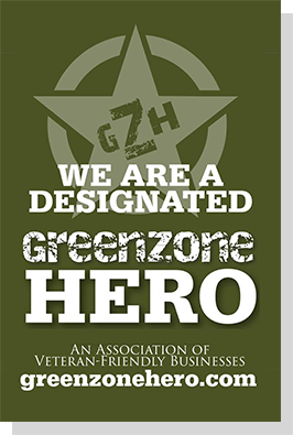 We Are a Designated Green Zone Hero