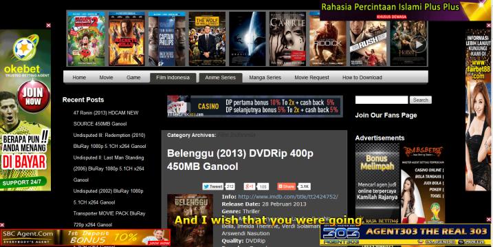 Cara Download Film Di Ganool