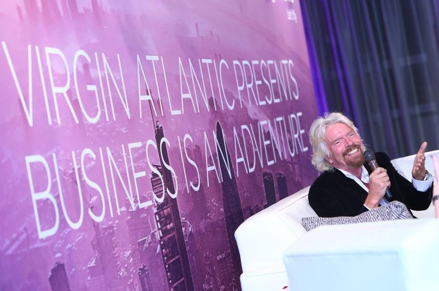 Richard Branson, virgin atlantic, Business is an Adventure