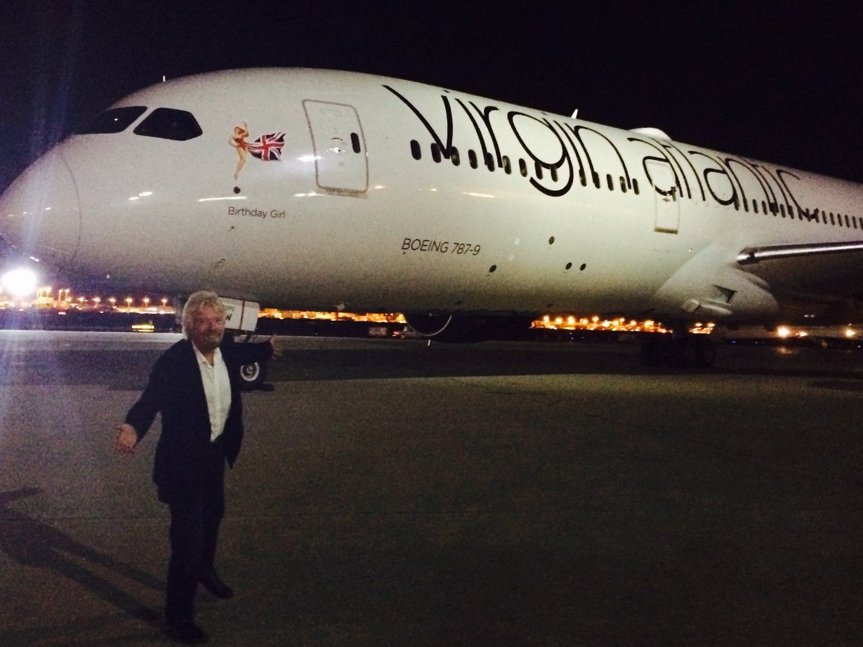 Virgin Atlantic's first Dreamliner hit the skies for its inaugural flight, and to mark the occasion we threw a celebration to rival all celebrations.