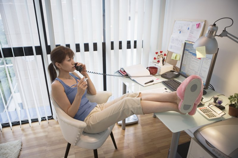 image from gettyimages - Working In Home Office