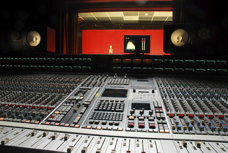 Recording Studio One Getty