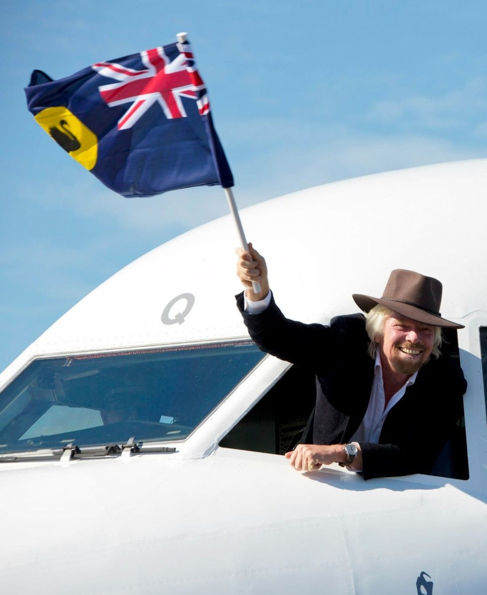 Flying the flag for Virgin Australia