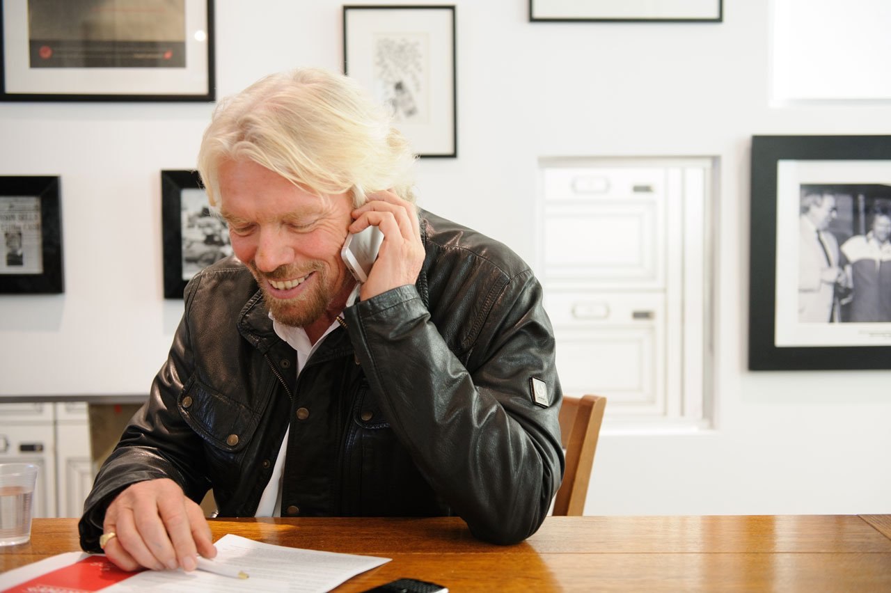 entrepreneur richard branson Branson opens up about the new book weconomy: you can find meaning, make a living and change the world, that was penned by his daughter holly branson and.