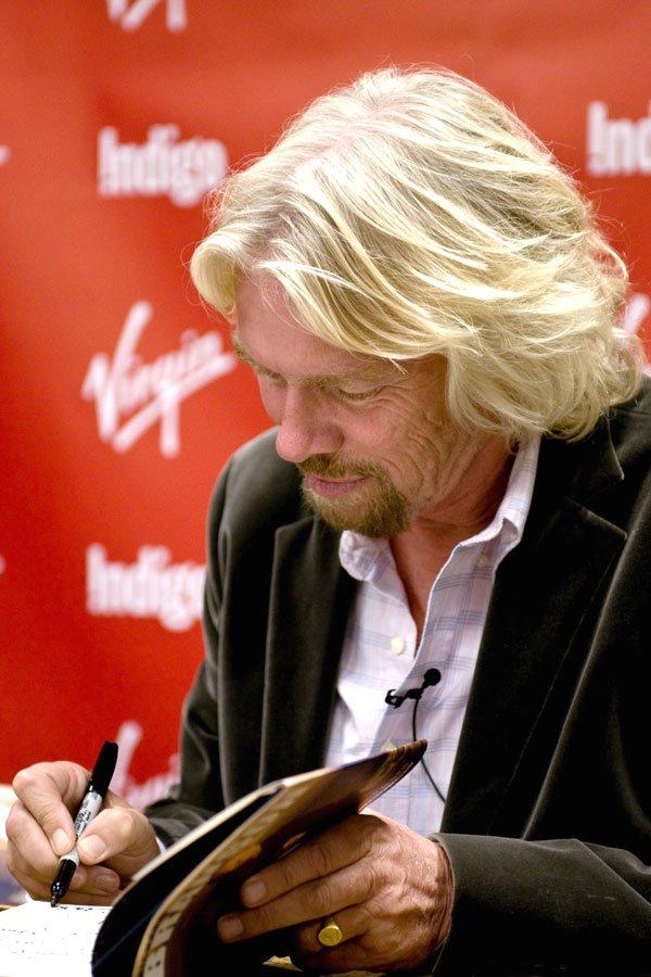 Richard Branson book signing toronoto