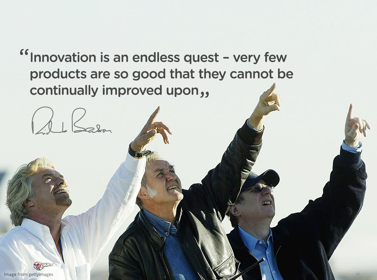 Quotes On Innovation Innovation Is An Endless Quest  Virgin