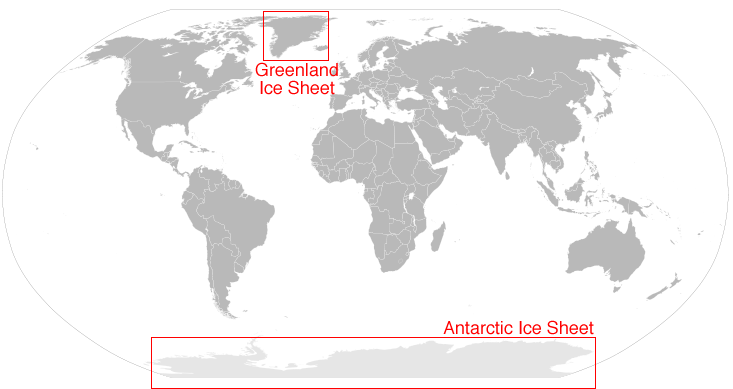 Greenlands getting greener virgin together the greenland and antarctic ice sheets contain more than 99 of the fresh water ice on earth image from the national snow ice data center gumiabroncs Choice Image