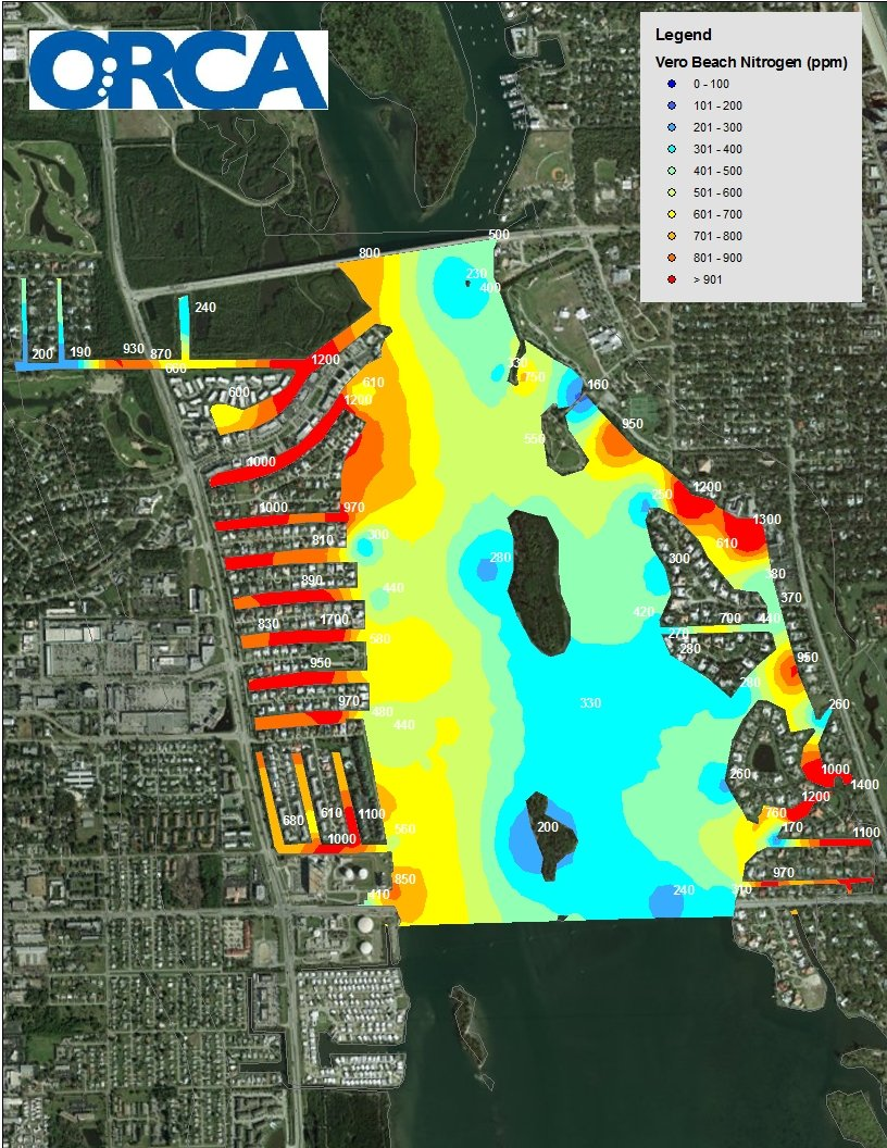 These Pollution Maps Are Helping Stop The Indian River Lagoon - Indian river lagoon map
