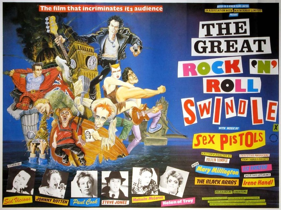 The Great Rock'n'Roll Swindle film poster