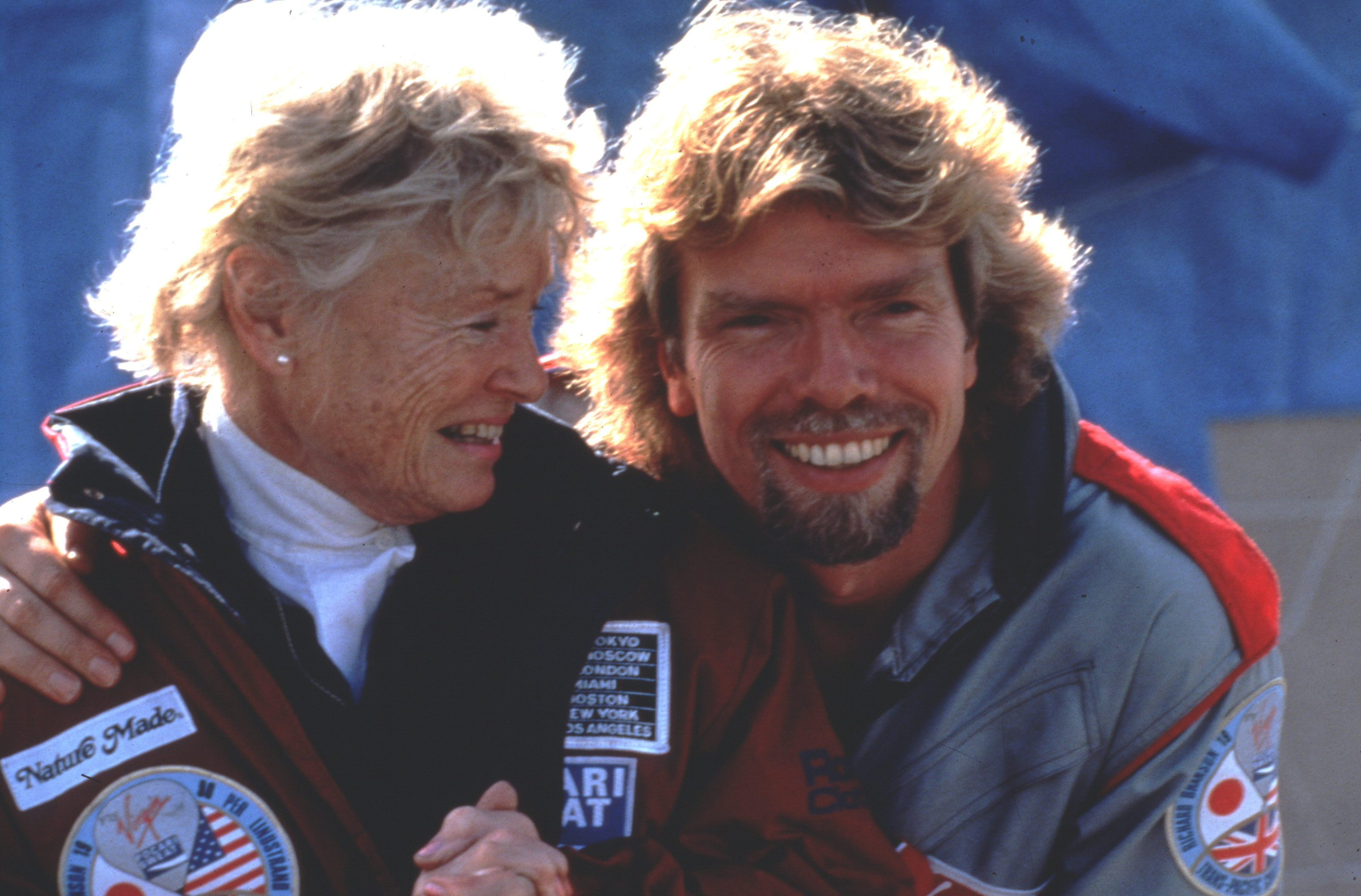 Richard and Eve Branson