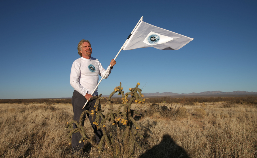 Richard Branson has bought Pluto and intends