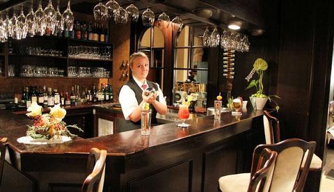Bar des Strandhotels Hohenzollern