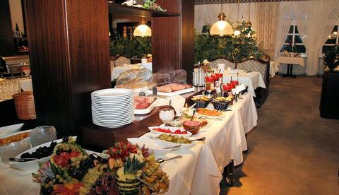Strandhotel: Restaurant