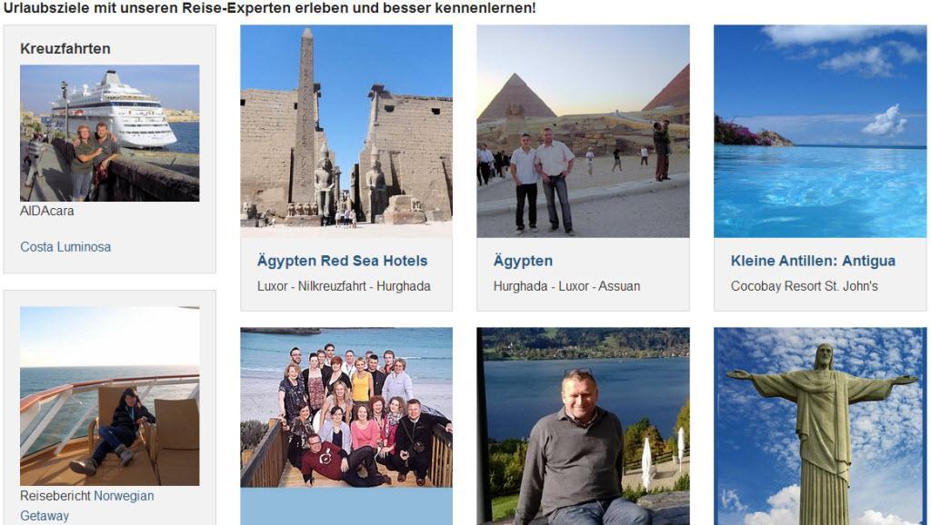 Reiseberichte der Reisefundgrube