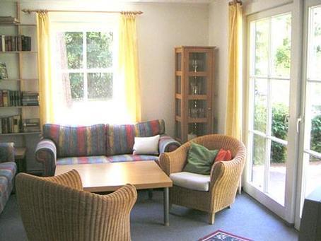 Ferienhaus-Wohnzimmer