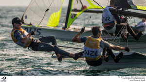 Burling and Tuke take Gold in 49er at Rio before the medal race is sailed