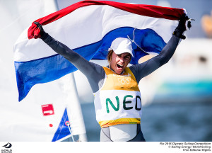 Bouwmeester wins Gold in Laser Radial at Rio after a few anxious moments