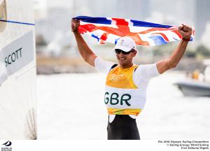 Giles Scott wins Finn at Rio 2016 by massive 32 points