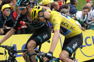 Slip Slidin' Away: Thrills And Spills On Wet And Greasy Roads At le Tour
