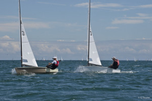 Danes dominate glamour first day at OK Dinghy Worlds in Quiberon