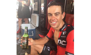 Richie Porte Reflects On 'Bittersweet' Tour While Enjoying A Well-Earned Beer