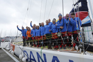 Wendy Tuck claims second podium finish in Clipper Race
