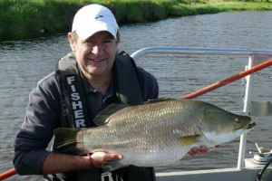 Rec fishos one step closer to catching a barra in Victoria