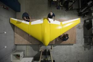 DST Group prepares for Deep Ray flying wing UUV test