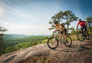 Mountain Biking in Western North Carolina, USA
