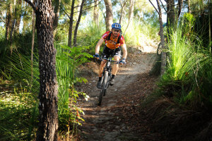 Mountain Biking at Molle Island & Arlie Beach