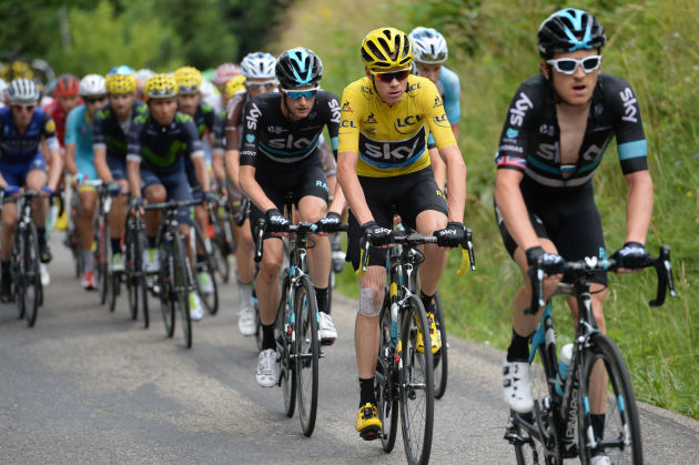 Sir Dave Brailsford of Team Sky describes the cutting edge Australian technology as