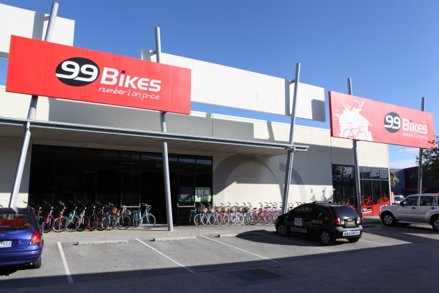 99 Bikes Birtinya on Queensland's Sunshine Coast