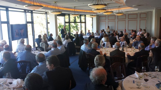 A good turn-out at the inaugural Marine Industry Foundation lunch helped to raise another $25,000 to fund community boating programs.