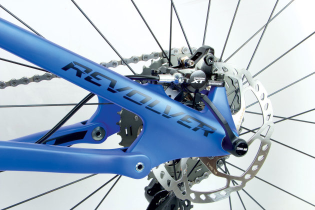 When compared to Norco's other A.R.T. suspension equipped models, the chainstay pivot is placed higher in relation to the rear axle. This leads to a more active ride that remains supple even under hard pedalling.