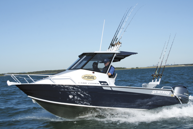 Hardtops are popular with southern fishos looking for the ultimate protection in a offshore capable hull.