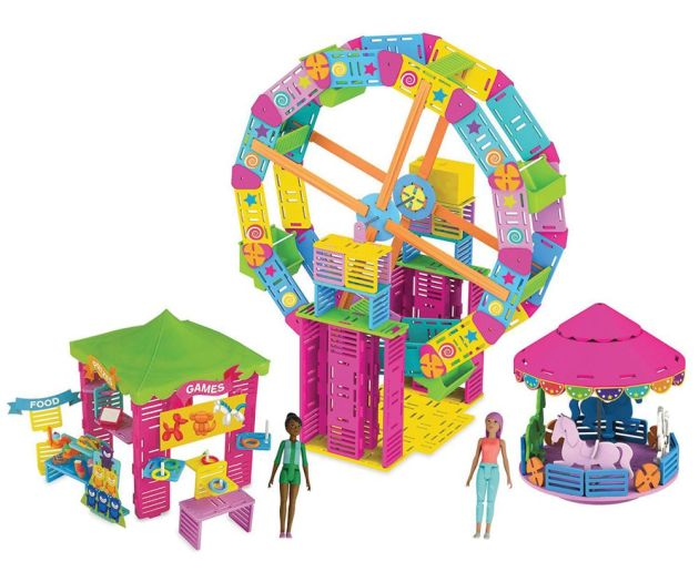 Toy Insider Roominate Cotton Candy Carnival PlayMonster