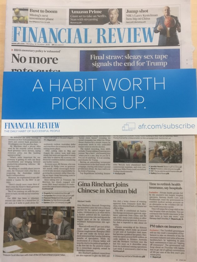 financial review campaign