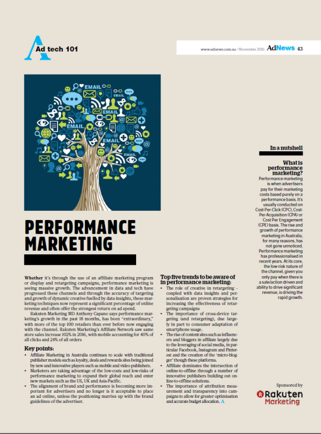 ad tech 101 performance marketing