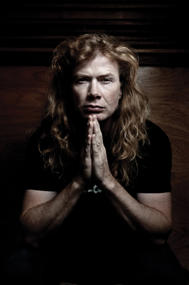 Dave Mustaine from Megadeth. © Ben Vella.