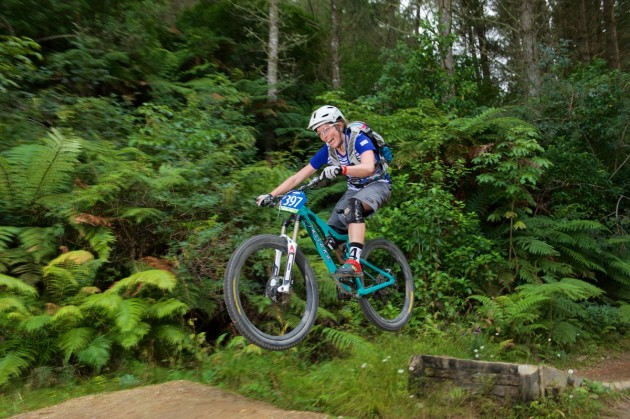 Rotorua IMBA gold status trails will feature at the Rotorua Bike Festival (Giant 2W Gravity Enduro/Alick Saunders).