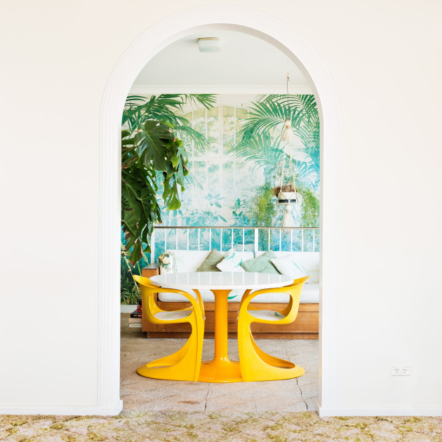 Sunroom, 2014. Archival inkjet print 110x110cm. © Alan Hill and Kelly Hussey-Smith.