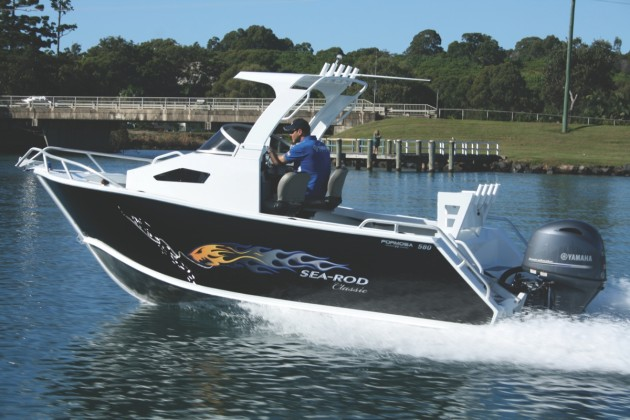 Formosa Boats has refined its SEA-ROD 580 to be more practical and fishing friendly, as MARK WARD recently discovered.