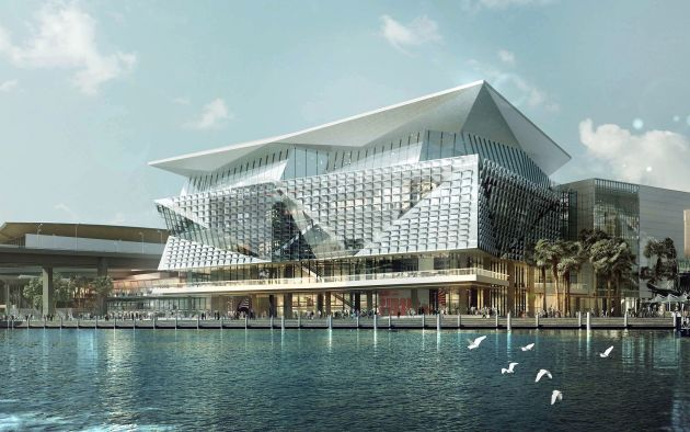 ICC Sydney: the new home of marine17.