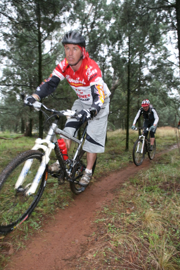 The Gurie trails host the Dubbo 300 MTB marathon event and there's a lot of singletrack in the area.