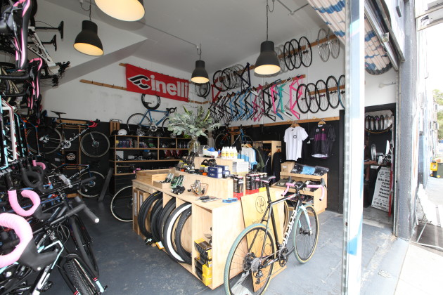 The premises may be basic, but it's well stocked with carefully selected bikes and p&a that caters for their local market. Their main bike brand is Focus.